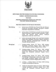 Book Cover: Keputusan Menteri Kesehatan Republik Indonesia  SK 2002