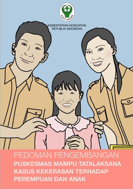Book Cover: Tatalaksana Kasus Kekerasan Terhadap Perempuan dan Anak