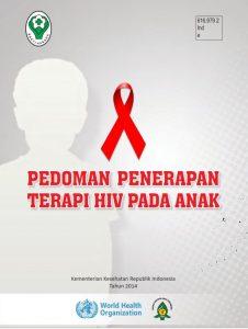 Book Cover: Pedoman Penerapan Terapi HIV Pada Anak