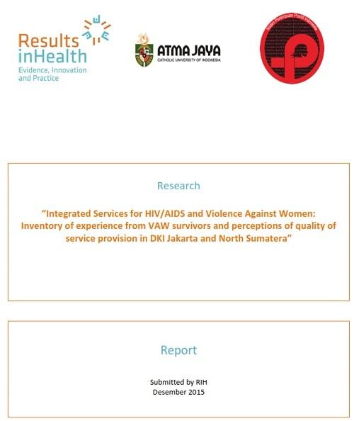 Book Cover: IPPI - RIH Research Report