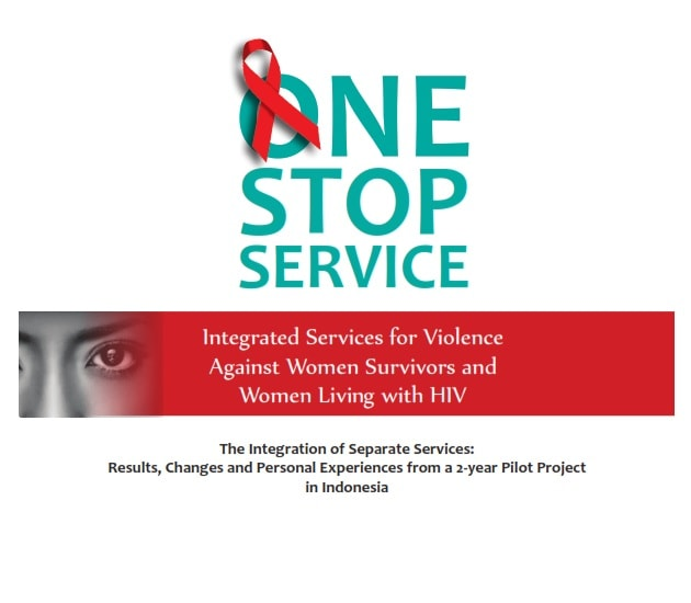 Book Cover: IPPI - UNTF One Step Service VAW - HIV