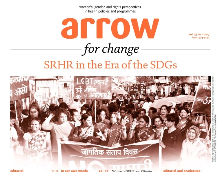 Book Cover: SRHR in The Era of SDGs