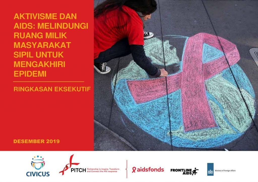 Book Cover: Ringkasan Eksekutif | Aktivisme & AIDS