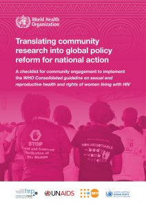 Book Cover: Translating Community Research Into Global Policy Reform
