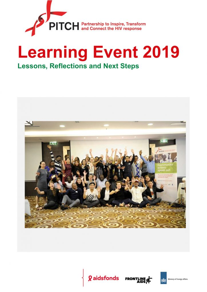 Book Cover: PITCH Learning Event Lesson